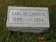Earl Michael Carson