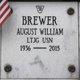 Profile photo:  August William Brewer