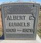 Profile photo:  Albert C. Gunnels