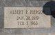 Profile photo:  Albert P. Pierson
