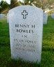 Benny Hugh Bowles