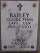 Althea Virginia <I>Speck</I> Bailey