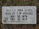 Mattie Mae <I>Stipe</I> Moore