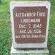 Alexander Fred Lindemann