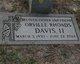 Orville Rhoads Davis, III