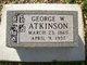 George Washington Atkinson