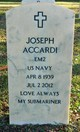 Profile photo:  Joseph Accardi