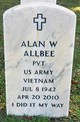Profile photo:  Alan Wayne Allbee