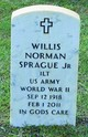 Profile photo:  Willis Norman Sprague, Jr