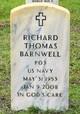 Profile photo:  Richard Thomas Barnwell