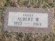 Profile photo:  Albert W Tinney