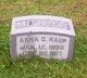 Anna S. Raup