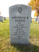 "Profile photo:  Abraham Kenneth ""Sarge"" Harris"