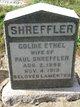 Profile photo:  Goldie Ethel Shreffler