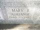 Profile photo:  Mary B Adrianse