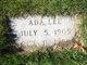 Profile photo:  Ada Lee <I>Carroll</I> Abbott