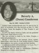 Profile photo:  Beverly A. <I>Dunn</I> Gunderson