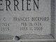 Frances Ruth <I>Bickford</I> Terrien