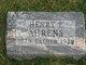 Henry Fredrick Ahrens