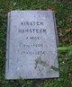 Kirsten <I>Moe</I> Hansteen