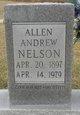 Profile photo:  Allen Andrew Nelson