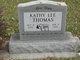 """Kathy Lee """"Kate"""" Thomas"""