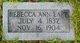 Rebecca Ann Earp