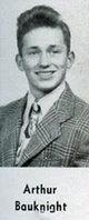 "Profile photo:  Arthur Willis ""Bud"" Bauknight"