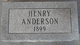 Henry Anderson