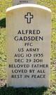 Profile photo:  Alfred Gadsden