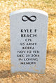Profile photo:  Kyle Franklin Beach