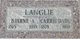 Profile photo:  Carrie <I>Dahl</I> Langlie