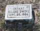 Infant Clark
