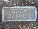 """Profile photo:  """"Baby"""" Bagwell"""