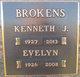 "Profile photo:  Kenneth John ""Kenny"" Brokens"