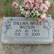 Thelma <I>Bruce</I> Watson