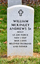 Profile photo:  William McKinley Andrews, Sr