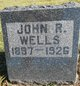 Profile photo:  John R. Wells