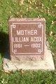Lillian Amelia <I>Fillmore</I> Acox