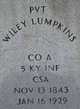 Wiley Lumpkins