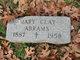 Profile photo:  Mary <I>Clay</I> Abrams