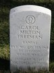 "Profile photo:   Carol Milton "" "" <I> </I> Freeman,"