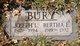 Profile photo:  Bertha E. Bury