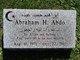 Profile photo:  Abraham H. Abdo