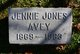Profile photo:  Jennie K. <I>Jones</I> Avey