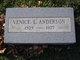 "Venice Lorraine ""Vinnie"" <I>Moore</I> Anderson"