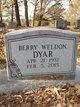 Profile photo:  Berry Weldon Dyar