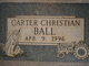 Carter Christian Ball