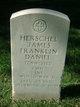 Profile photo:  Herschel James Franklin Daniel