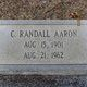 Charles Randall Aaron